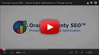 Orange County SEO Video